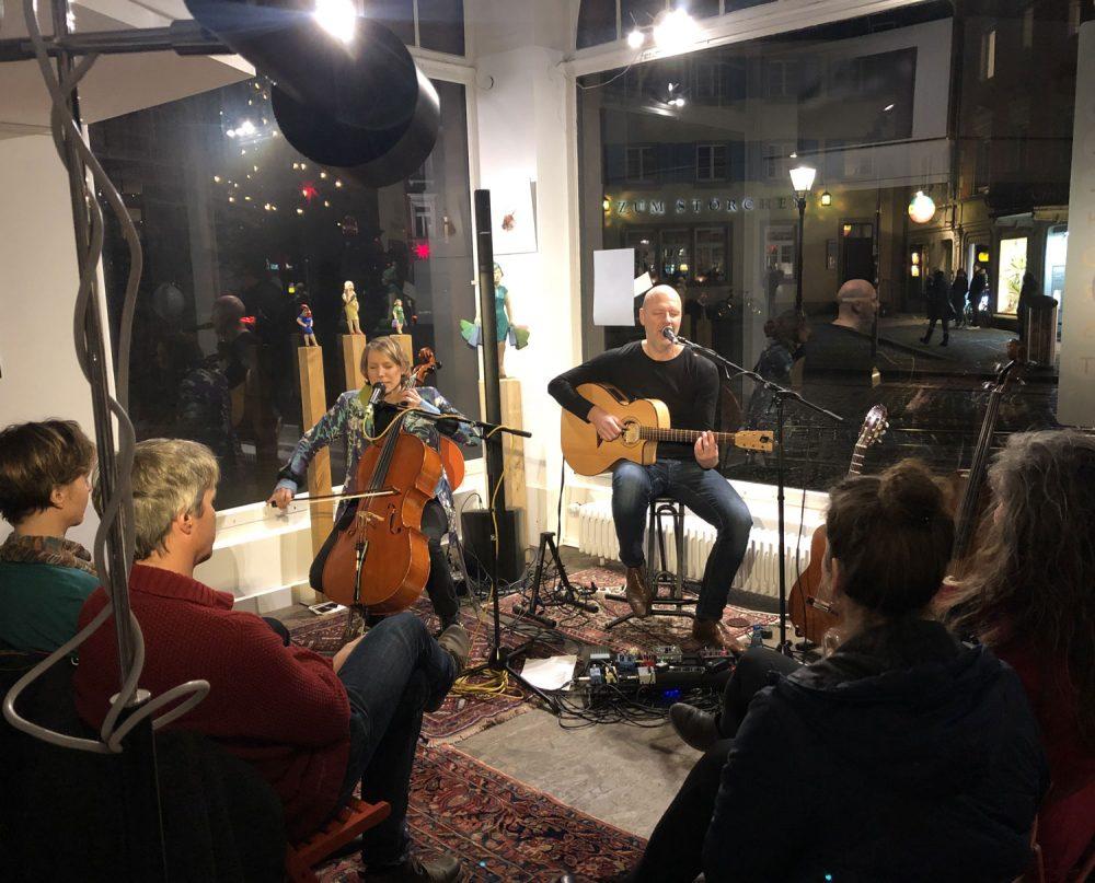 Abendveranstaltung mit Jeremiah Wood, Maren Pardall