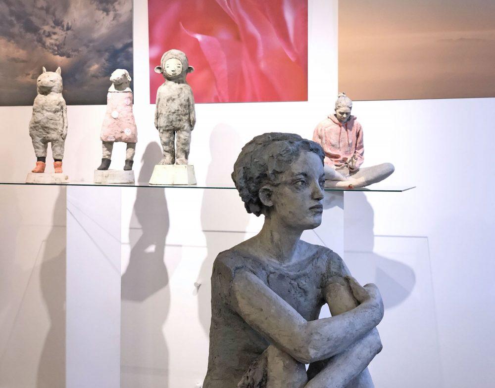 Vordergrund Silvia Siemes, Anna Dorothea Klug